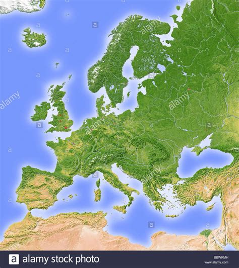 topographic map  europe stock  topographic map