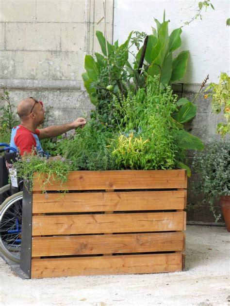 Terraform Raised Bed Makes Gardening Wheelchair Accessible