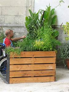 Terraform Raised Bed Makes Gardening Wheelchair Accessible   Treehugger