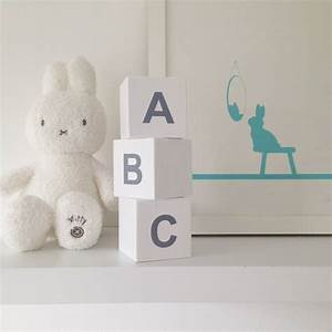 personalised wooden letter play cubes by myla oscar With wooden letter cubes