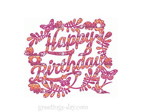 happy birthday animated ecard