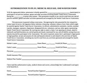 Generic Medical Release Form