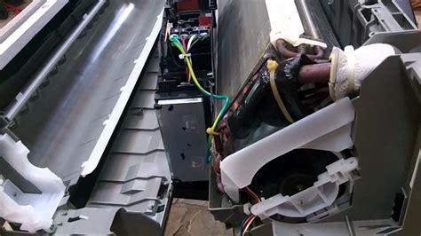 daikin mini split drainpan changeout youtube