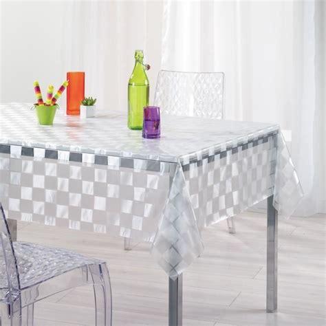 bureau ikea en verre nappe plastique transparent nappe plastique transparent