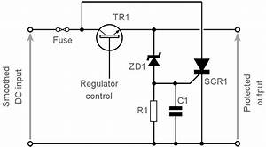 over voltage protection power supply overvoltage With crow bar circuit