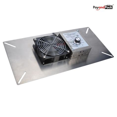 crawl space exhaust fan with humidistat durablow crawl space foundation ventilator fan w