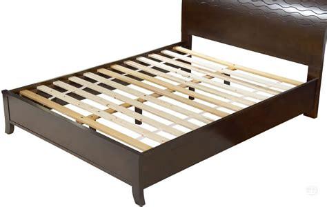 17413 king slatted bed frame putting a mattress on wood or steel slats