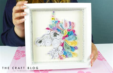 diy unicorn quilling tutorial   craft blog