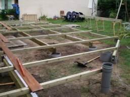 construction d une terrasse en bois sur pilotis 9 With construire sa terrasse bois