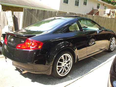 2007 Infiniti G35 Coupe 6mt Black (fully Loaded