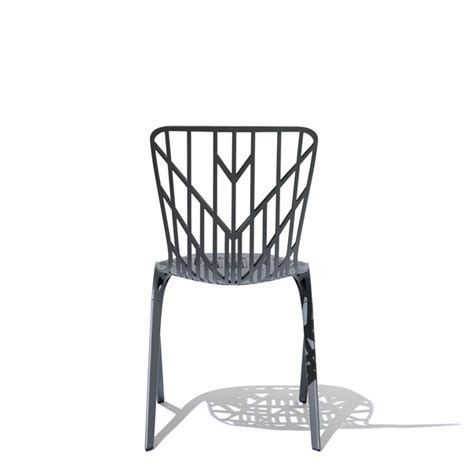 washington skeleton aluminum chair arenson office