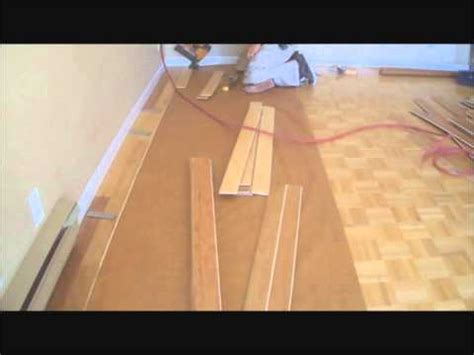 installing prefinished hardwood floors yourself how to install prefinished hardwood floor glue down technique how to save money and do it