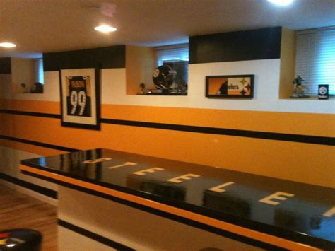steelers man cave  steelers man cave