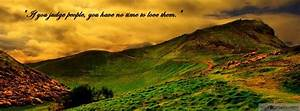beautiful nature wallpapers with quotes for facebook cover ...
