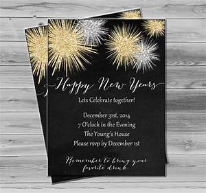 New Years Invitation Templates Free 25 New Year Invitation Templates To Download Sample