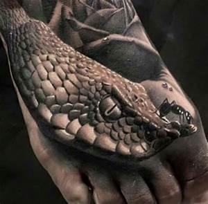 38+ Realistic Snake Tattoos