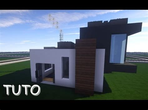 tuto maison moderne quot 10x10 quot minecraft