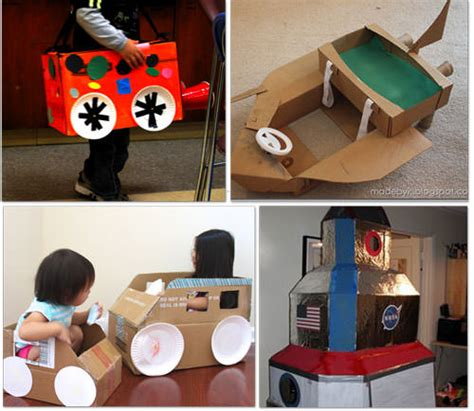 box car for kids 32 things to make using a cardboard box diy tip junkie
