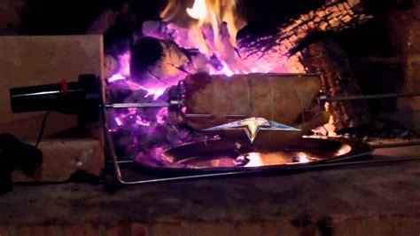 forno camino a legna girarrosto nel camino di casa girarrosto elettrico pizza