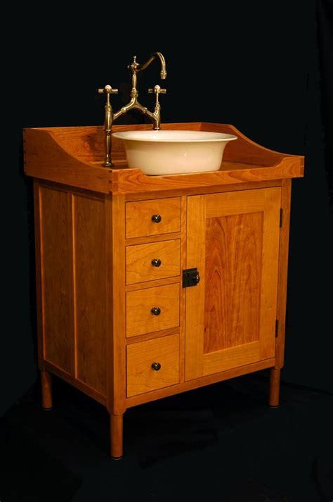 custom  shaker vanity washstand   andrew maisel