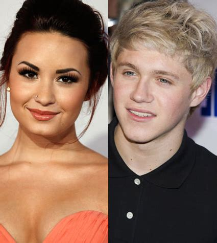 Demi Lovato and Niall Horan