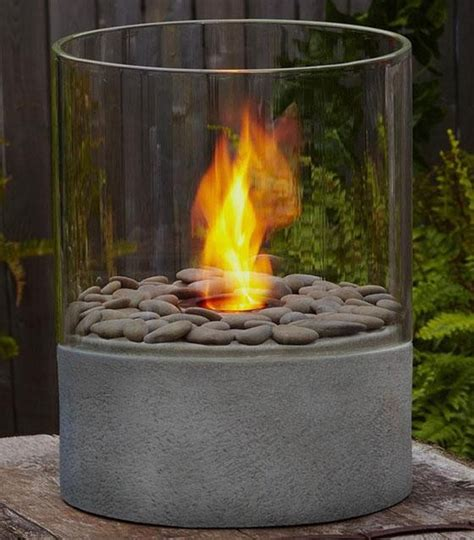 small fire pit table modesto fire column contemporary tabletop fireplaces