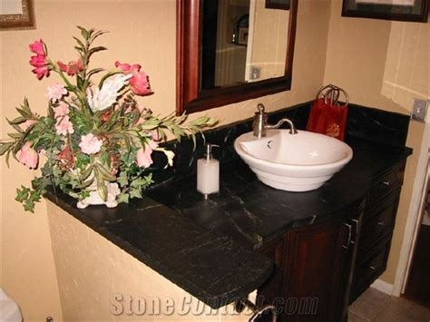 Soapstone Vanity Top by Black Minas Venata Soapstone Vanity Top From United States
