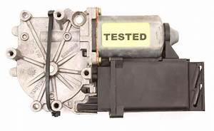 Rh Rear Window Motor 95-97 Vw Passat B4 - Genuine