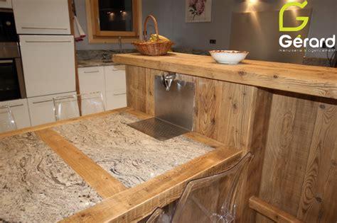 faire une fontaine cuisine le vieux bois quand la poutre se fait meuble