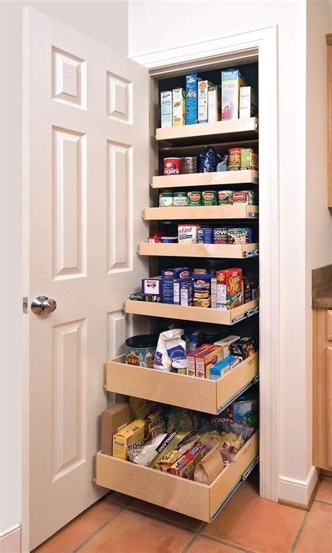 slide out pantry 65 ingenious kitchen organization tips and storage ideas