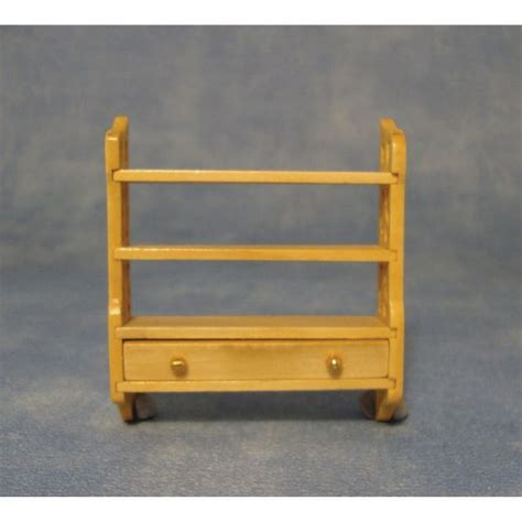 small wall shelf unit  dolls house dfp bromley craft