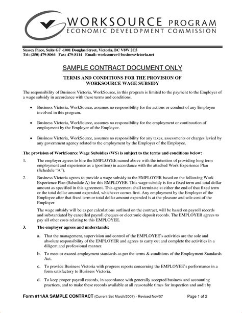 Selling A Business Contract Template by 19 Exles Of Business Contract Templates Thogati