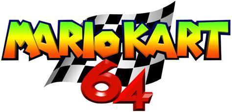 Mario Kart 64 Logo By Ringostarr39 On Deviantart