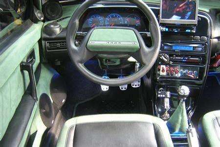 ВАЗ 21099, тюнинг, водительское место