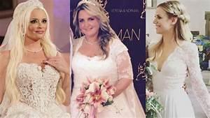 Die Schönsten Hochzeitskleider : echte traumbr ute die sch nsten promi hochzeitskleider ~ Frokenaadalensverden.com Haus und Dekorationen