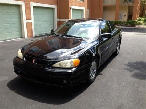 Buy Used 2002 Pontiac Grand Am Gt Coupe 4 New Tires In
