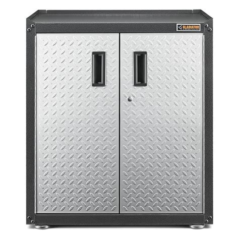 garage storage cabinets lowes shop gladiator 28 in w x 31 in h x 18 in d steel