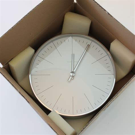 max bill clock open box floor sle sale stardust