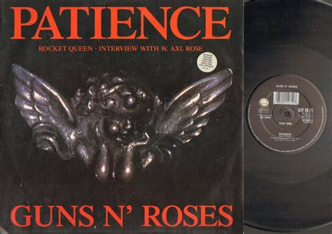 Guns N Roses Patience Records, Vinyl And Cds