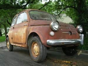 Fiat Parts Usa by 1959 Fiat 500 Nuova American Version Barn Find