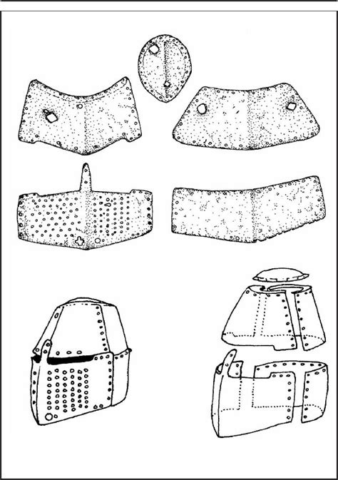 helm template a unique finding of a great helm from the daleč 237 n castle in moravia petr ž 225 kovsk 253 academia