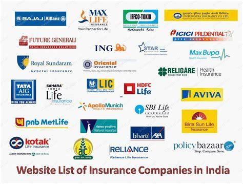 List Of Auto Insurance Companies
