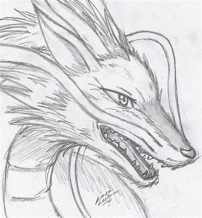 Spirited Haku Away Deviantart Drawings Dragon Drawing