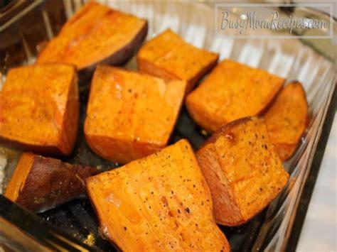 bake yams baked yams busy mom recipes