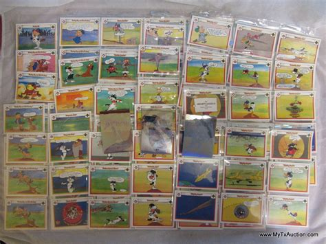 1990 the upper deck company collectors cards looney tunes