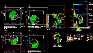Escalera De Caracol DWG Block for AutoCAD • Designs CAD
