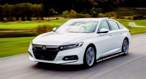 2019 Honda Accord Sedan Sport Redesign  Honda Civic Updates
