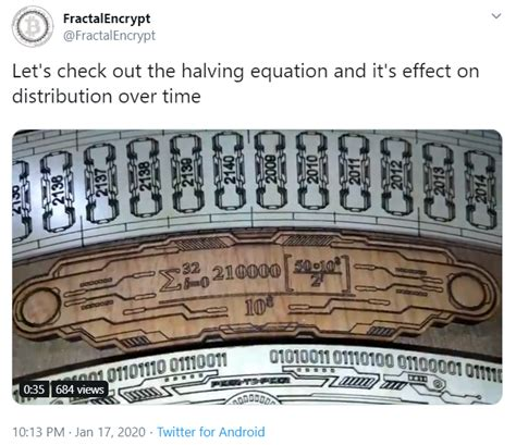 For this upcoming bitcoin halving (also known as halvening), the total number of. The Bitcoin Clock Sculpture At The North American Bitcoin Conference - Crypto.IQ   Bitcoin and ...
