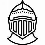Knight Helmet Medieval Clipart Transparent Clip Casco
