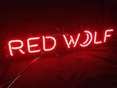 Beer Bar Signs Wolf Moon Lighting Neon